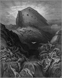 Il rilascio della colomba (Gustave Doré)