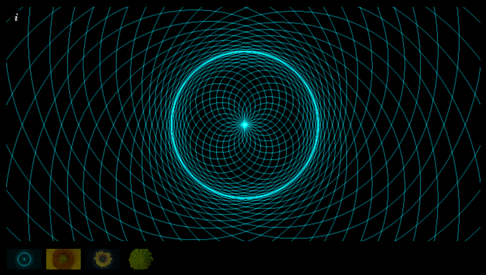 Phi Double Spiral