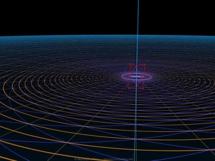 Modello integrato con doppia spirale phi,