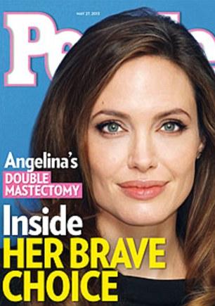 BRCA angelina