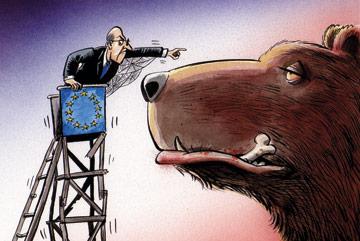 Perché l'Europa si è sempre comportata in questo modo, anche se poi, di fatto, ha continuato imperterrita a comprare il gas russo?