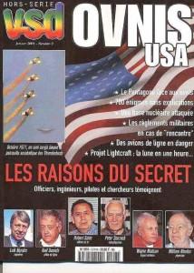 10-VSD (magazine)- n° 3 –del luglio 2001(OVNIs USA Le ragioni del segreto)