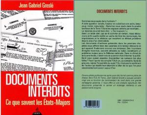 11-Testo 4° di copertina: Il libro di Jean-Gabriel Gresle: Documenti Proibiti – Quello che sanno gli Stati-Maggiori – Edizioni Dervy (2004)
