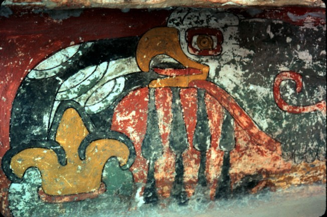 Harpy eagle_mural Teotihuacan