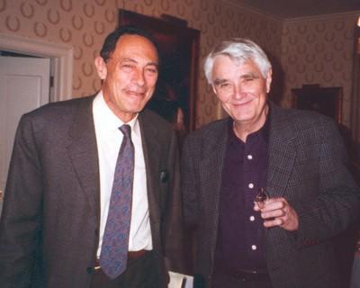 John Mack (a sinistra) e Budd Hopkins